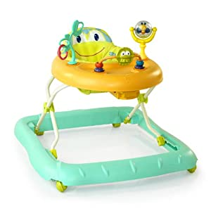 Bright Starts Walk-A-Bout Walker, Cute Frog (Discontinued by Manufacturer)