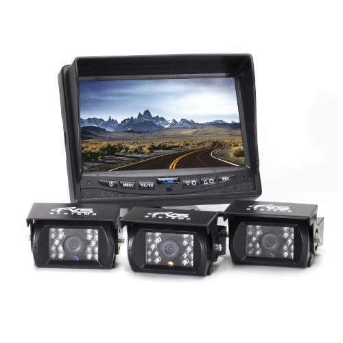 Rear View Safety RVS-770615 Video Camera with 7-Inch LCD (Black)
