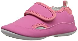 Robeez Wendy Hard Sole Mini Shoe (Infant), Azalea, 9-12 Months M US