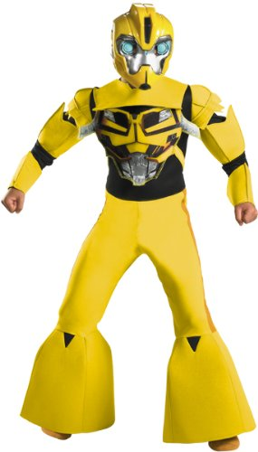 Boy's Costume: Bumblebee Deluxe- Medium image