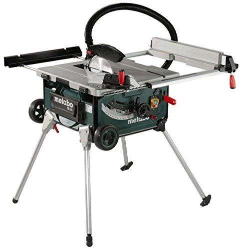 Metabo-Tischkreissge-TS-254-mobile-Kreissge-mit-Untergestell-Trolleyfunktion-und-extra-starkem-2000-W-Motor-Arbeitshhe-850-335-mm