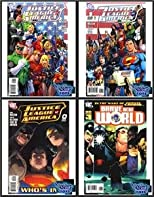 Justice League America #0, #1 (Cover A, B) + Bonus Brave New World 4 Comic Set (DC Comics)