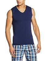COTONELLA Look&Trend Camiseta sin mangas x 2 (Azul)