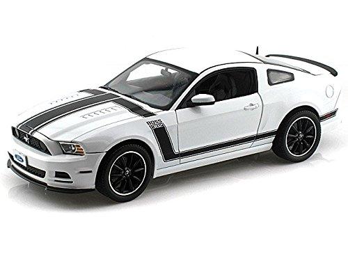 2013 Ford Mustang Boss 302 1/18 White