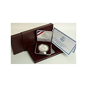 1999 Proof Dolley Madison Silver Commemorative Dollar with Box