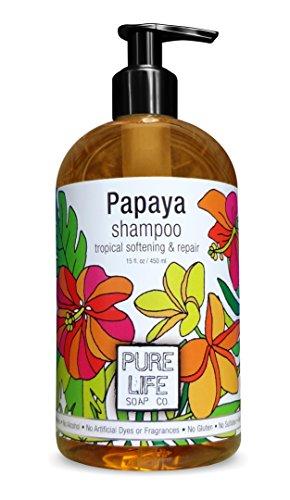 Pure Life Shampoo Papaya, 15 Fluid Ounce (Organic Papaya Hair Extract compare prices)