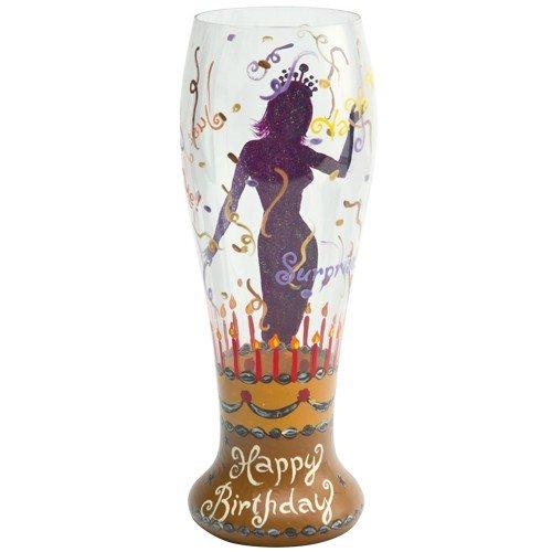 Santa Barbara Design Studio Pil-5522R Lolita Gotta Love Beer Pilsner Glass, Birthday Surprise