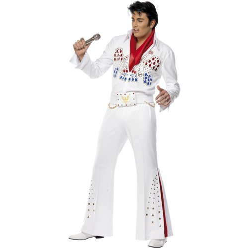 Elvis American Eagle Jumpsuit Adult Costume