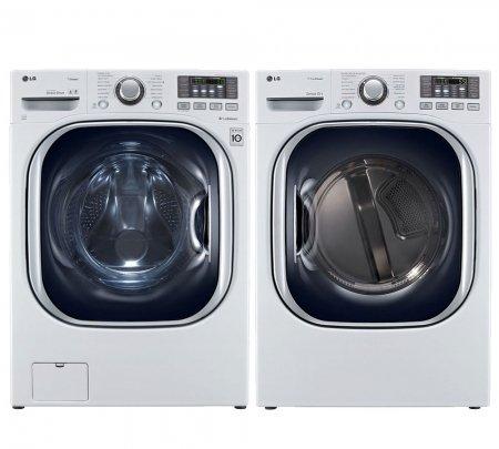 LG WM4070HWA 27 4 3 cu  ft  Ultra Large Capacity Washer +