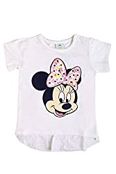 Disney Baby Girls' Blouse Shirt (TC 2452_Off-White_12-18 Months)