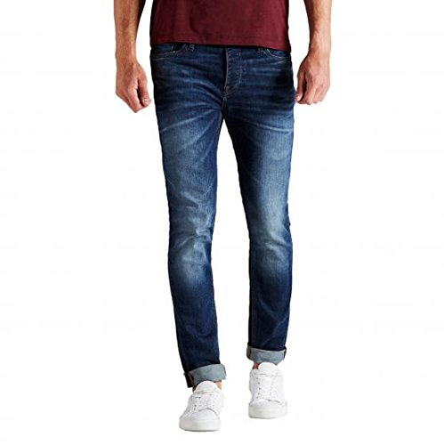 JACK&JONES 12115779 TIM L.34 DENIM JEANS Uomo DENIM 32