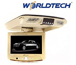 Worldtech Roof Mount 9.5-inch TFT LCD Monitor