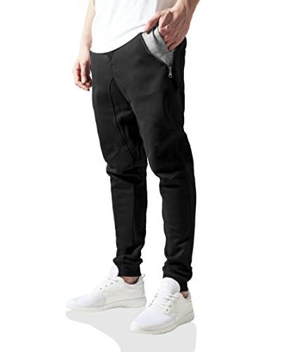 Urban Classics Sweatpants schwarz/grau