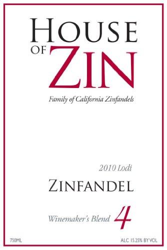 2009 House Of Zin House Maker'S Blend #4 Zinfandel Lodi 750Ml