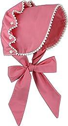Brooke\'s Treehouse Baby Girls\' Brooke\'s Bonnet 12 Month Carnation