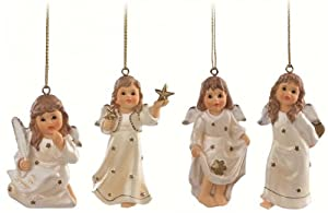 Hummel Angel Christmas Ornaments (4 pc set) from M.I. Hummel