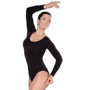 Shepa Damen langarm Gymnastikanzug Ballettanzug 36