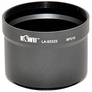 Kiwifotos LA-52XZ2 filtre objectif adaptateur pour Olympus XZ-1, XZ-2 - 52mm