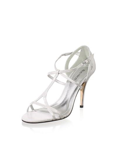 Klub Nico Women's Marlene T-Strap Sandal  - Silver