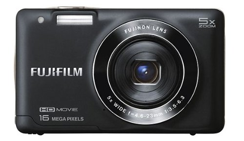 Fujifilm FinePix JX650 16.0-Megapixel Digital Camera - Black