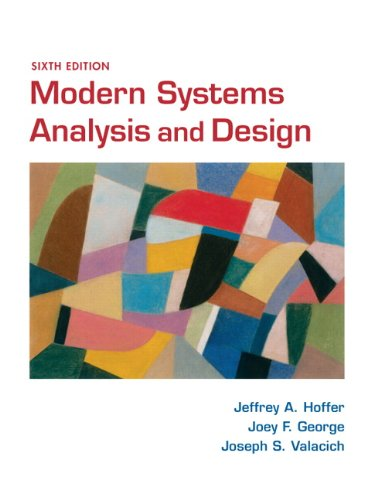 Modern Systems Analysis and Design (6th Edition)