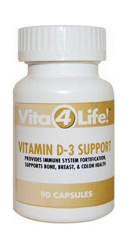 Vitamin D-3 Support, 90 Supplement Capsules, 30000 Iu - Vita4Life