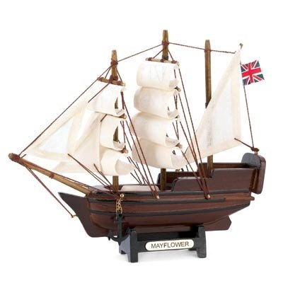 MINI MAYFLOWER SHIP MODEL - Home Decor