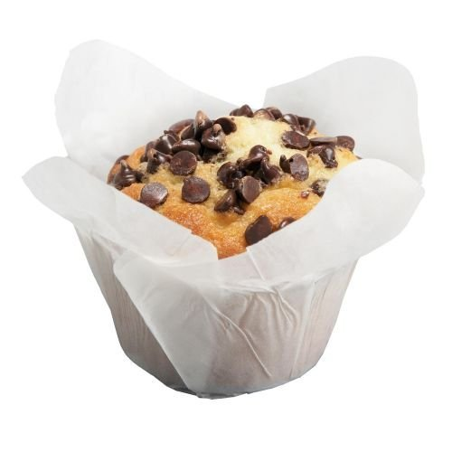 Hoffmaster White Greaseproof Lotus Cup, 2 x 2 x 2 3/4 inch - 250 per pack -- 10 packs per case.