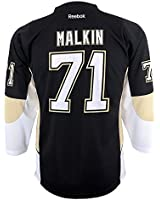 Evgeni Malkin Pittsburgh Penguins Black NHL Youth Home Replica Jersey Large/X-Large 14-20