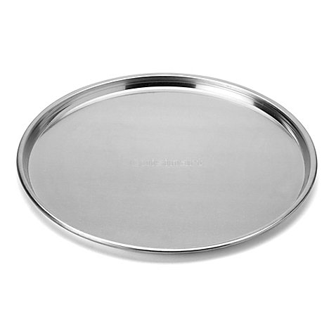 Cuisinart Alfrescamore Stainless Steel Aluminum Pizza Pan in Silver (Cuisinart Pizza Pan compare prices)