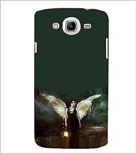 PRINTSWAG ANGEL GIRL Designer Back Cover Case for SAMSUNG GALAXY MEGA 5.8