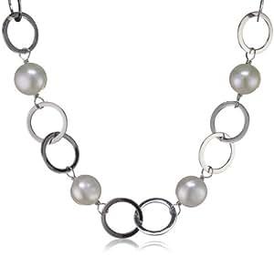 Valero Pearls - 290100 - Collier  Argent 925/1000 - Femme - Perles Cultures d'Eau douce -  42+5 cm