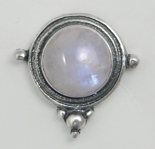 Rainbow Moonstone Sterling Silver Stud Earrings When You Need Just a Little Bit of Color