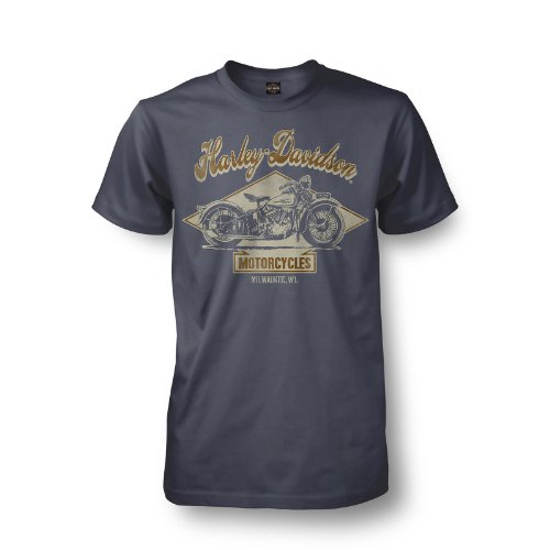 Harley-Davidson Kadena Okinawa Diamond Head T-Shirt Mens - L