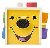 Disney Baby Winnie the Pooh Wooden Shape Sorting Cube, Model: 5766