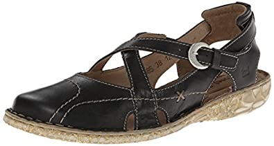 JOSEF SEIBEL Women's Sunflower (Black Leather 36.0 M)