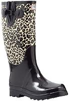 Women's Flat Wellies Rubber Rain & Snow Boots