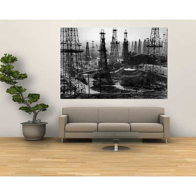 Signal hill oil order top clearance signal hill oil at for Audience wall mural