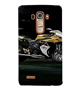 EPICCASE Yamaha Cases Mobile Back Case Cover For LG G4 (Designer Case)