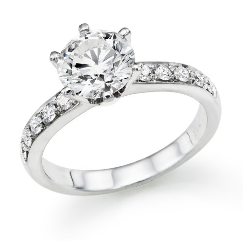 3/4 ctw. Round Diamond Solitaire Engagement Ring