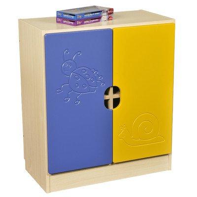 Sideboard Novo Farbe: Blau / Gelb