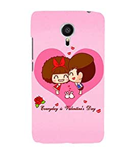 EPICCASE Everyday is Valentine day Mobile Back Case Cover For Meizu MX 5 (Designer Case)