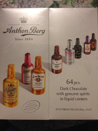 Buy Anthon Berg 64 Pcs Dark Chocolate With Genuine Spirits