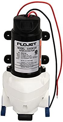 Flojet 03526 144A Triplex Diaphragm 3526 Series Automatic Water System Pump