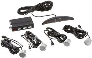 Vega R4S Système d'aide au stationnement avec écran couleur, signal sonore et 4 capteurs (Argenté)