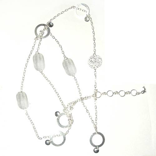 Sterling Silver Belly Chains Length 40 Inches