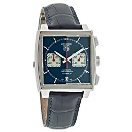 TAG Heuer Men s CAW2111 FC618 Monaco Calibre 12 Automatic Chronograph Watch