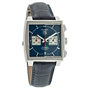 TAG Heuer Men's CAW2111.FC618 Monaco Calibre 12 Automatic Chronograph Watch