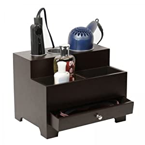 Amazon.com - Personal Espresso Hair Styling Organizer - Storage And