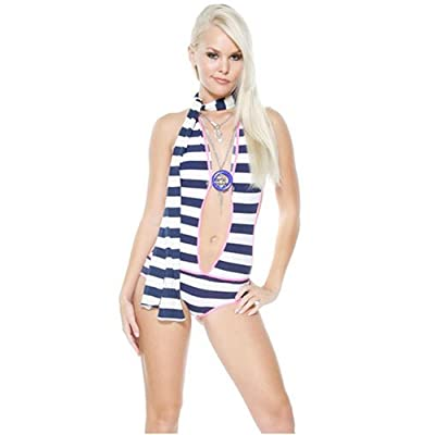 Adult Costume: Hot Girls in Sailor Sherry Swimsuit